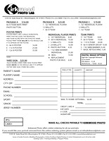 Kirkwood Photo Lab   Order Forms for Offline Ordering on sports newsletters, sports training, sports accessories, sports brochures, sports letterhead, sports inventory forms, sports catalogs, sports labels, sports photography, sports products,